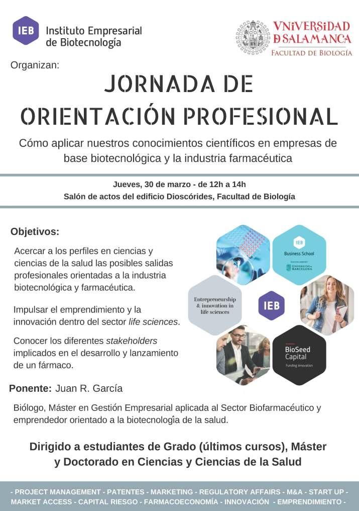 JORNADA DE ORIENTACIÓN LABORAL. USAL